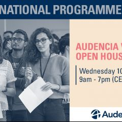 Audencia Virtual Open House