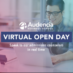 Chat live with Audencia Today!
