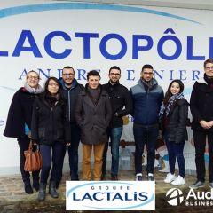 Lactalis accueille les étudiants du MASC