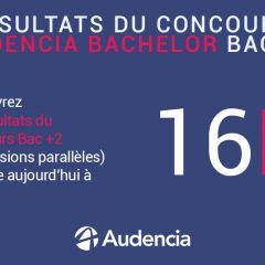 Résultats Concours Bachelor Bac+2 - 2020