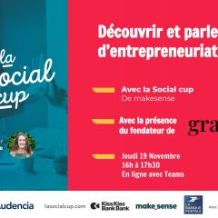 The 7th edition of the Social cup is coming to Audencia!