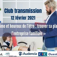 Atelier Club transmission - La légitimité, quelle est ma place ?