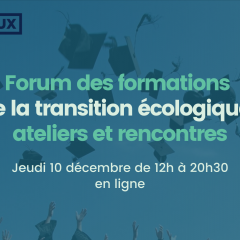 Forum des formations de la transition écologique