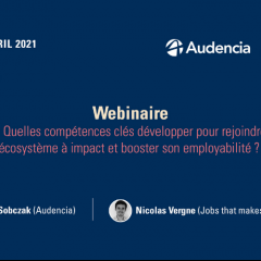 Webinaire Audencia X Jobs that makesense -