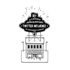 Audencia dans le top 5 des établissements d'enseignement supérieur les plus influents sur Twitter !