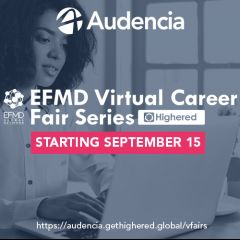 EFMD VIRTUAL CAREER FAIR SERIES BY HIGHERED 2020 PART II