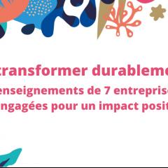 Webinaire - Transformation durable des entreprises