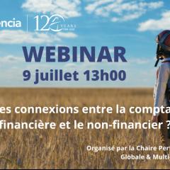 Connexions entre la compta financière et le non financier