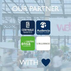 L'alliance Centrale-Audencia-ensa partenaire du Web2day