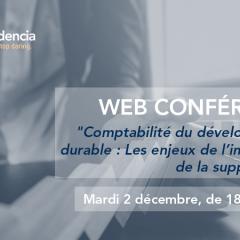 Conférence - Comptabilité du développement durable